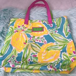 Lilly Pulitzer for Estée Lauder Large Tote Bag